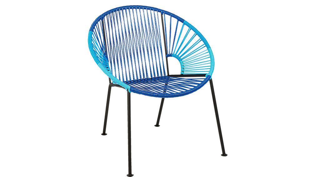 ixtapa blue lounge chair