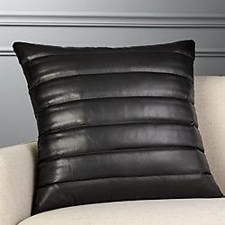 Black Leather Furniture | CB2