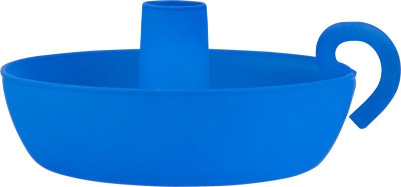 jack blue candleholder