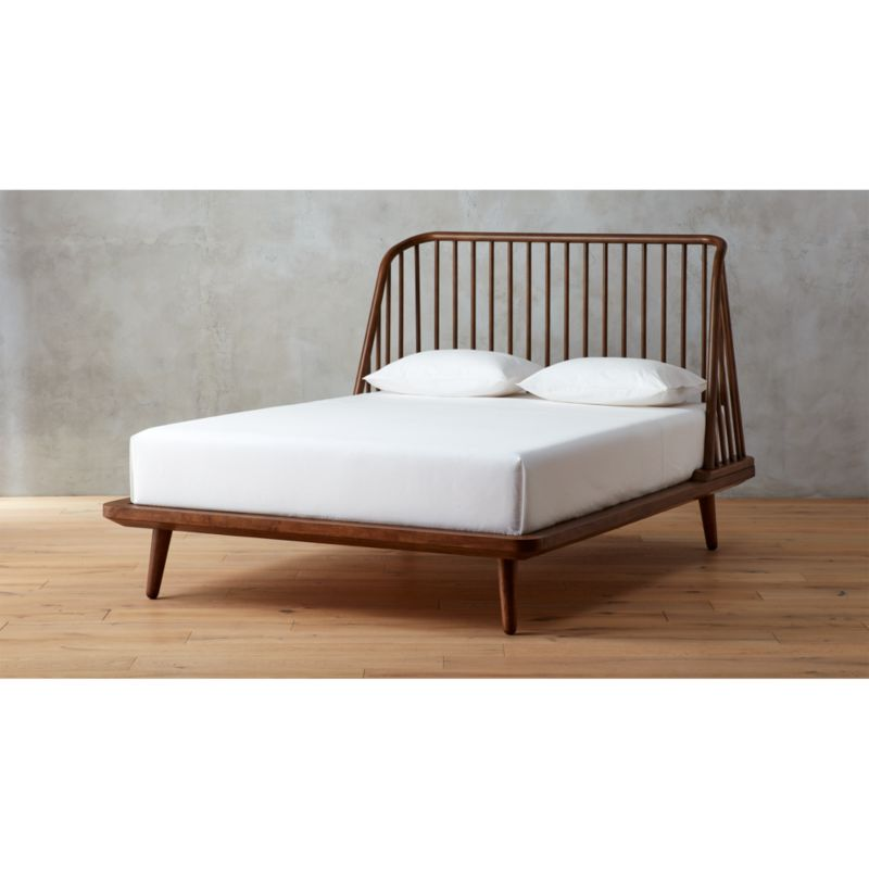 pin it jarvis low profile wood bed