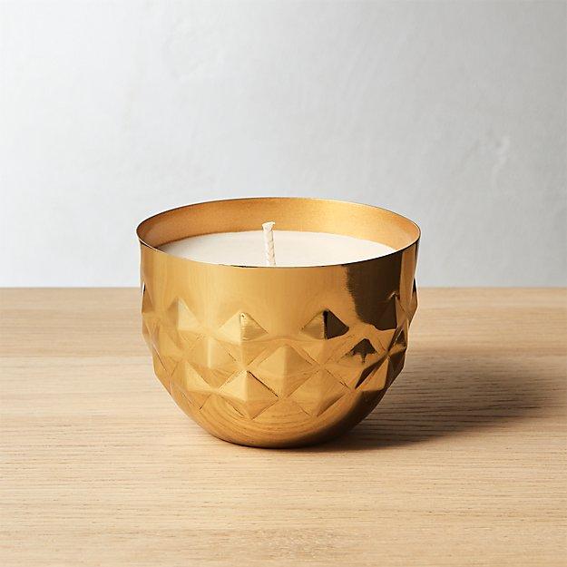 jasmine and tonka bean soy candle + Reviews | CB2
