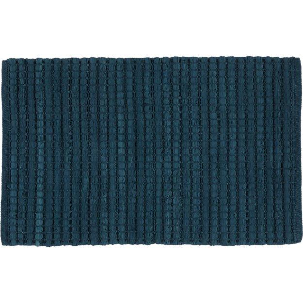 jersey cummulus indigo rug 2'x3'