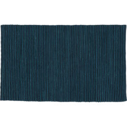 jersey cummulus indigo rug 5'x8'