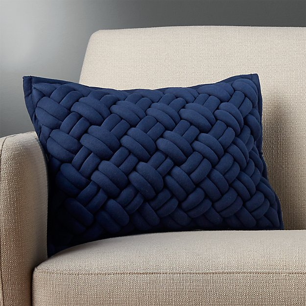 Large Blue Decorative Pillows : 18