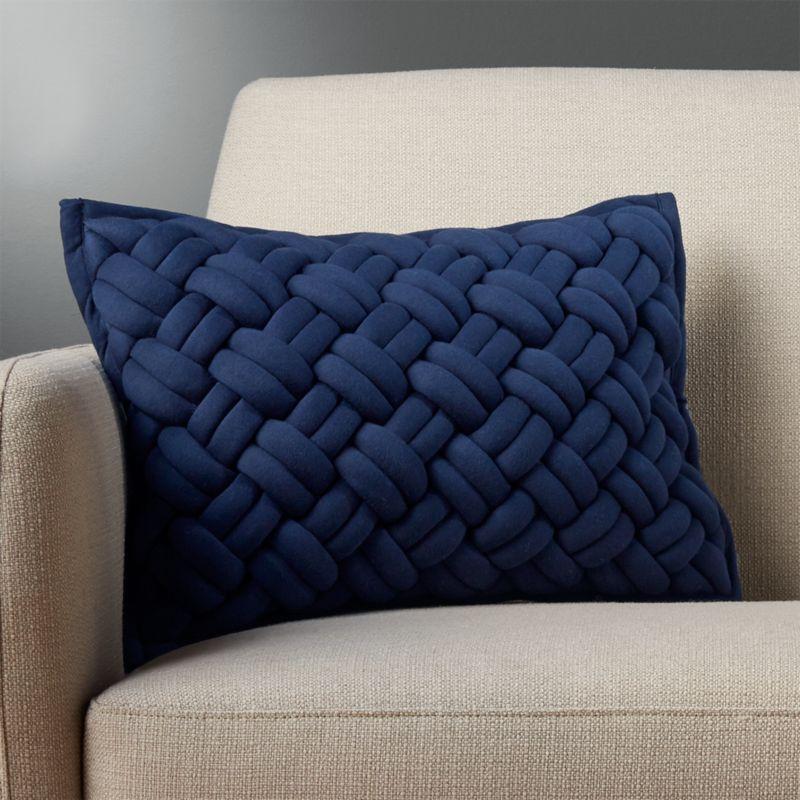 Big Blue Throw Pillows : 18