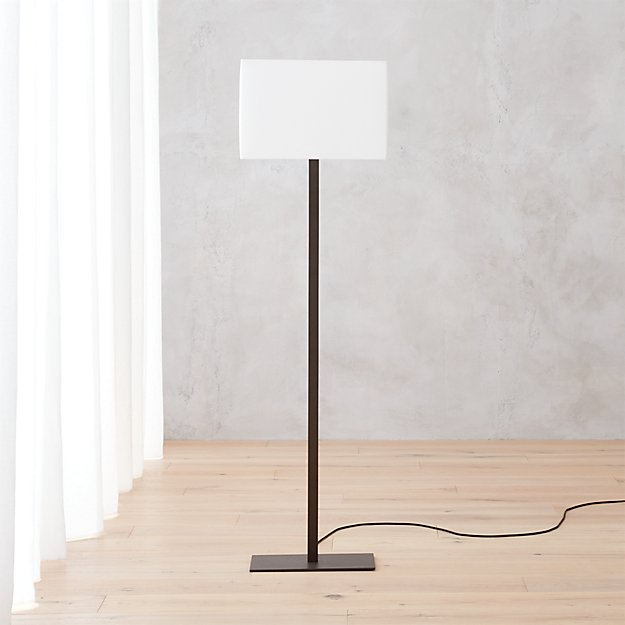 john floor lamp cb2 With cb2 modern floor lamp