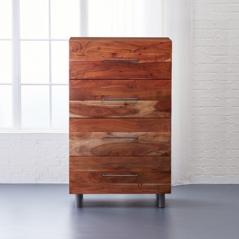 mango wood furniture   CB2