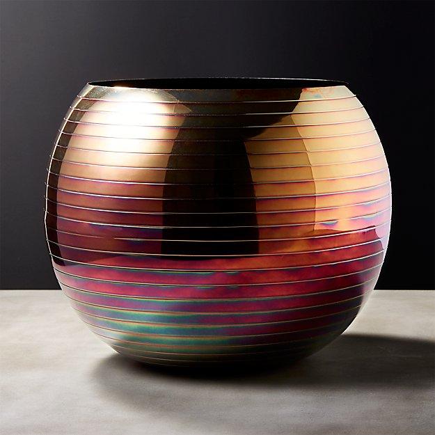 Juno Iridescent Planter-Vase