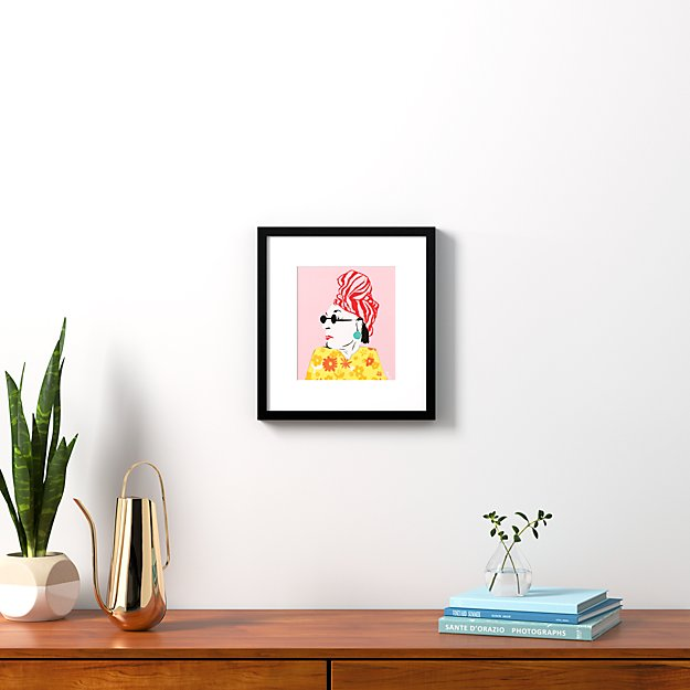 """beverly with black frame 14.5""""x15.75"""""""