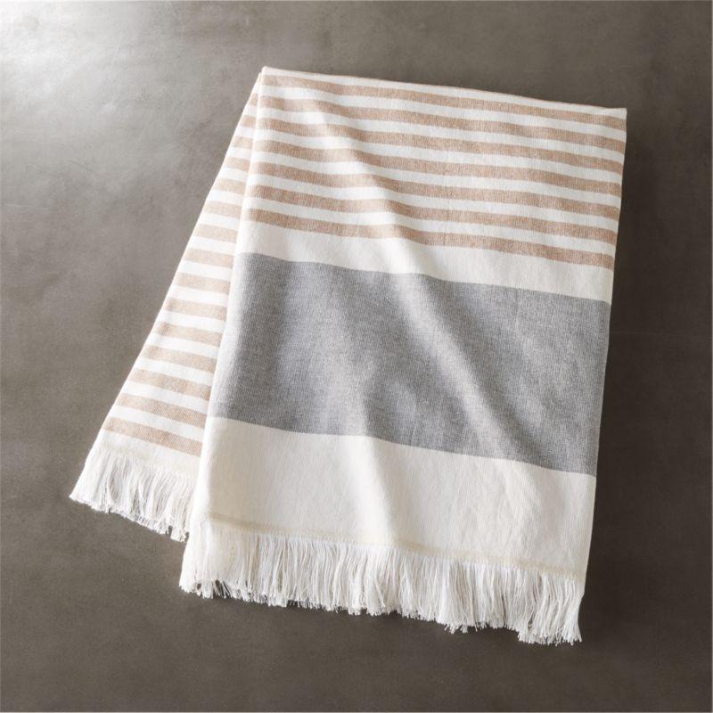 Karla Copper Bath Towel Reviews Cb2