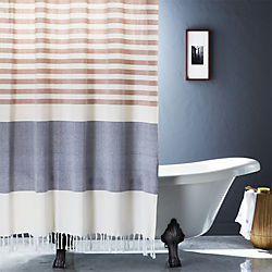 Pin It Karla Copper Shower Curtain Colors