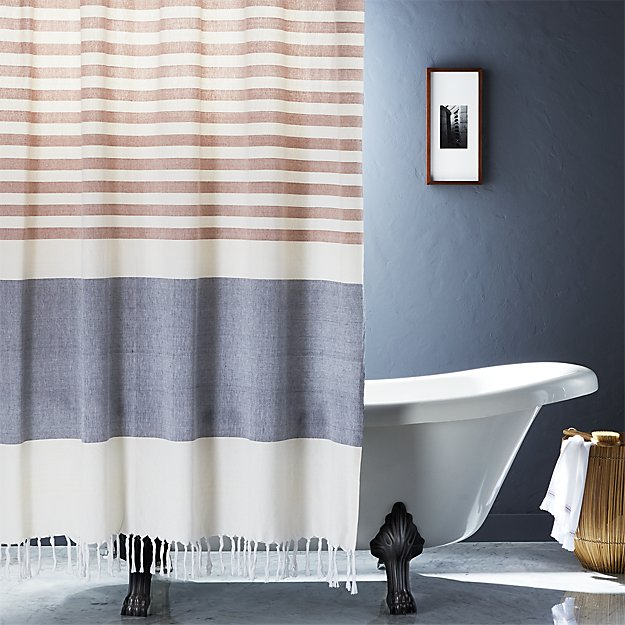 Karla Copper Shower Curtain In Curtains Reviews