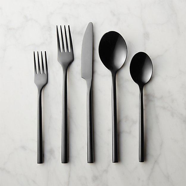 20-piece knight flatware set