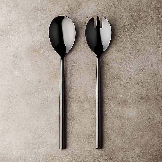 Knight Serving Spoons