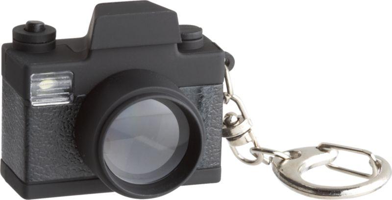 LED camera keychain