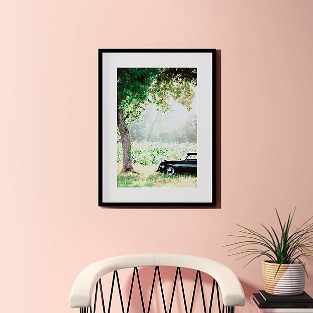 """afternoon sun with black frame 23.5""""x31.5"""""""