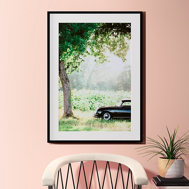 """afternoon sun with black frame 31.5""""x43.5"""""""