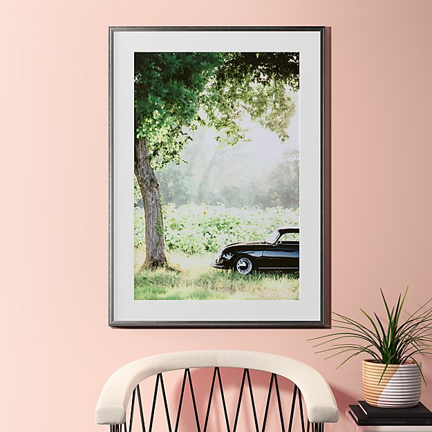 """afternoon sun with pewter frame 31.5""""x43.5"""""""