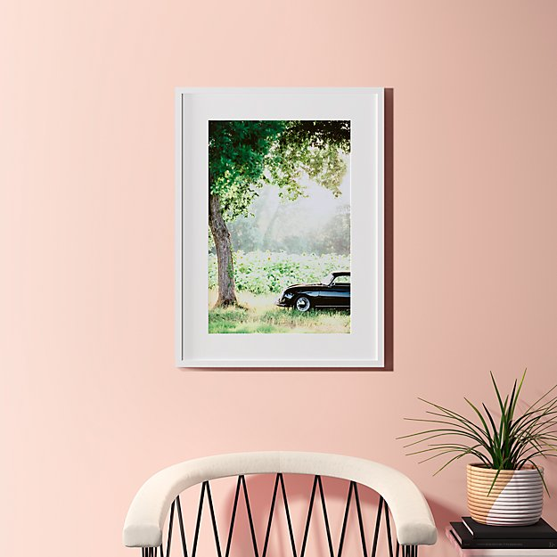 """afternoon sun with white frame 23.5""""x31.5"""""""
