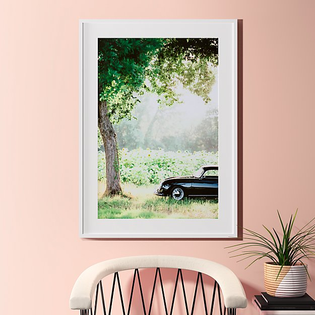 """afternoon sun with white frame 31.5""""x43.5"""""""