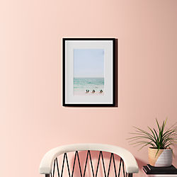 "beach life with black frame 18.5""x24"""