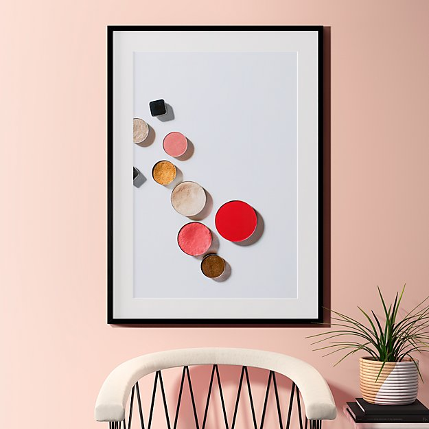 """makeup is art with black frame 31.5""""x43.5"""""""