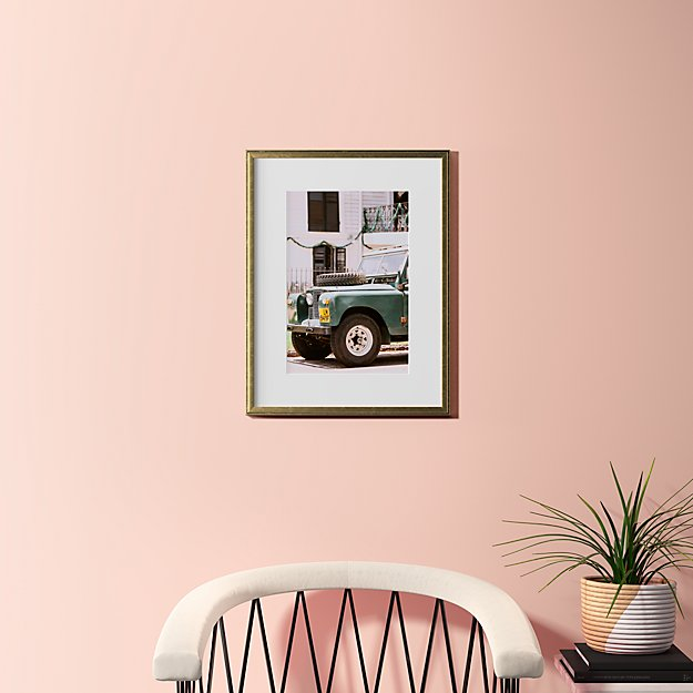 "uptown offroad with gold frame 18.5""x24"""