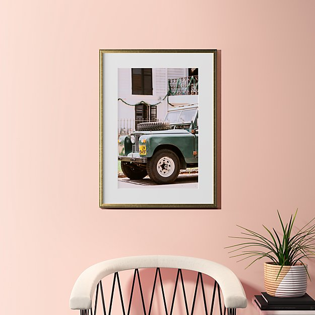 """uptown offroad with gold frame 23.5""""x31.5"""""""