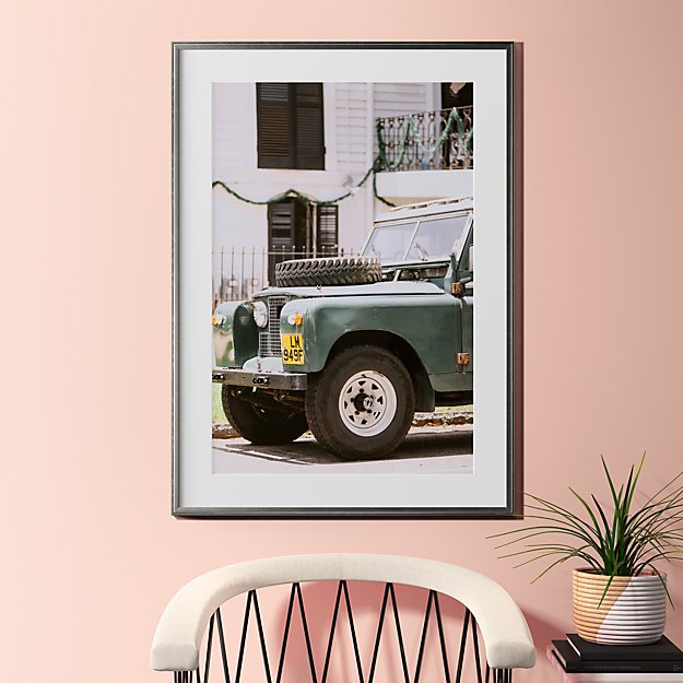 "uptown offroad with pewter frame 31.5""x43.5"""