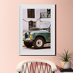 "uptown offroad with white frame 31.5""x43.5"""