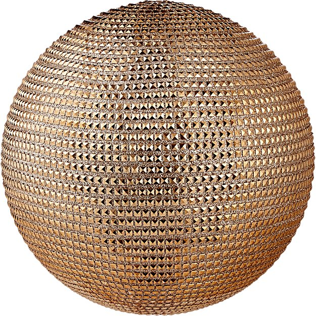 large copper stud ball