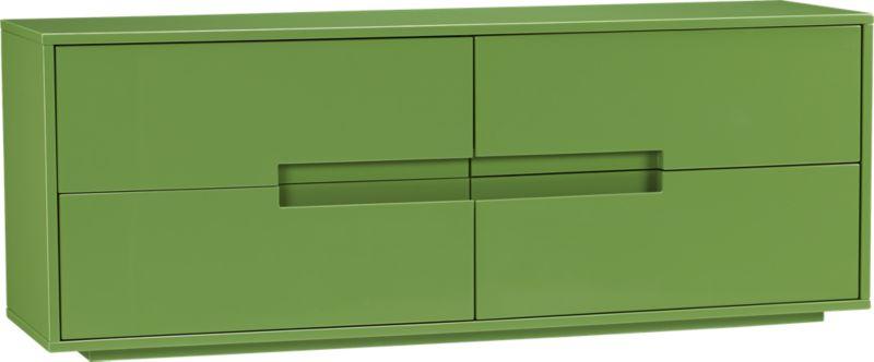 latitude green low dresser