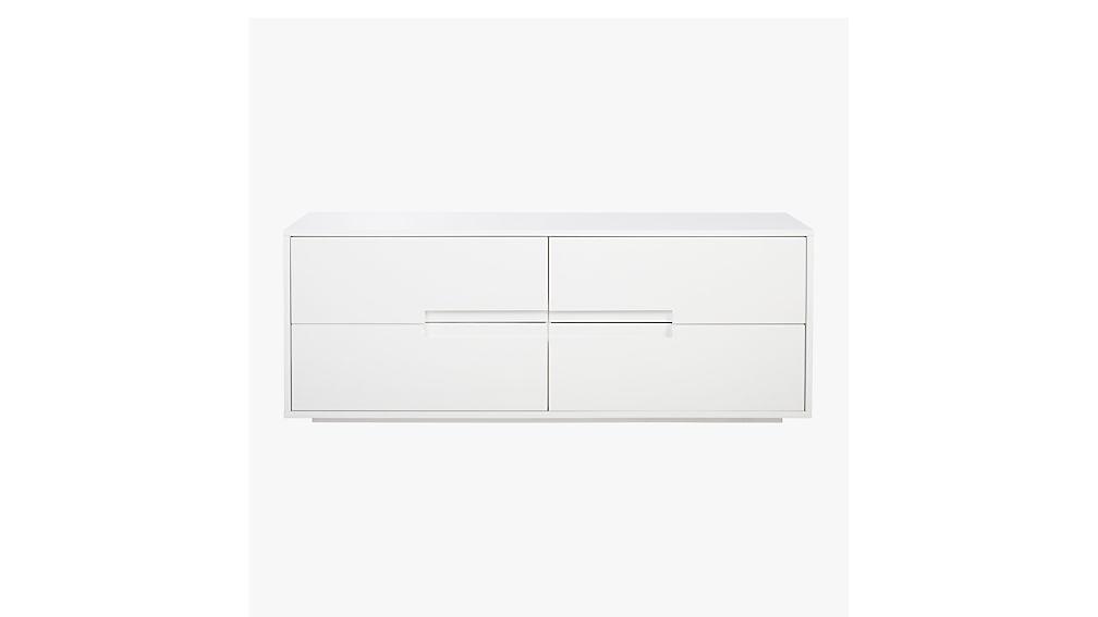 Latitude White Low Dresser Cb2