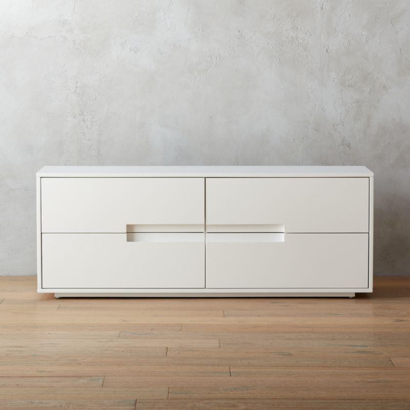 bedroom furniture cb2. Latitude White Low Dresser Bedroom Furniture Cb2 E