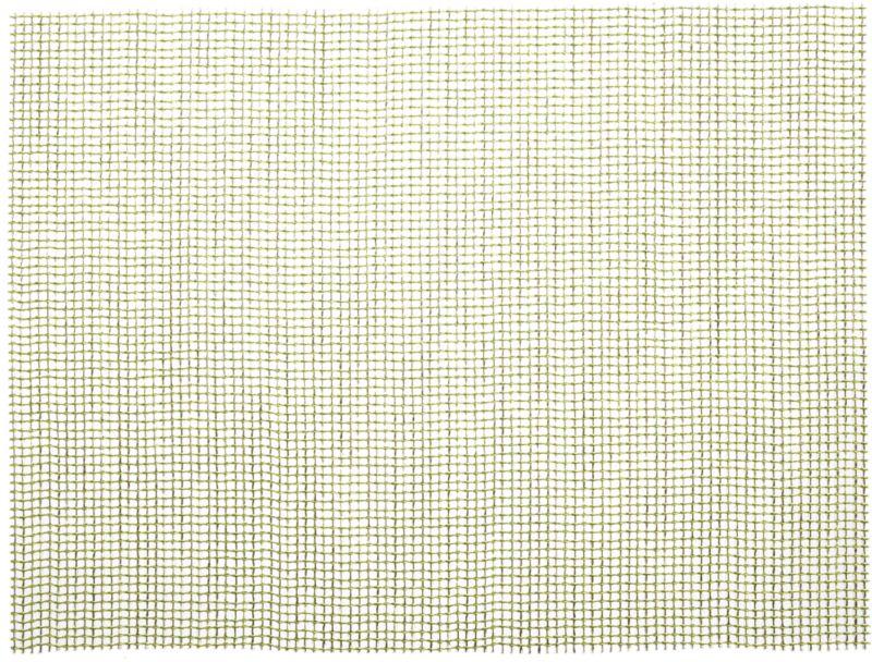 lattice green placemat