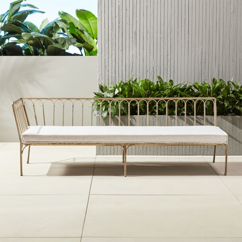 elegant outdoor furniture. le rve left arm daybed elegant outdoor furniture o