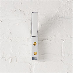 leaning edge aluminum wall hook
