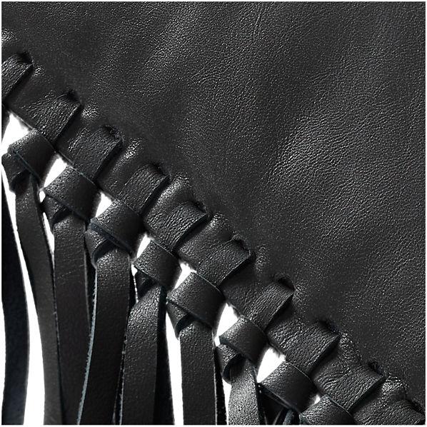 LeatherFringeGreyPillow18x12AV2F16