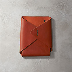 leather wall-mounted catchall