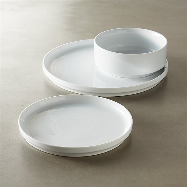 ledge dinnerware