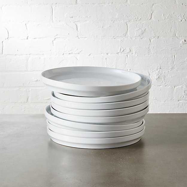 set of 8 ledge salad plates