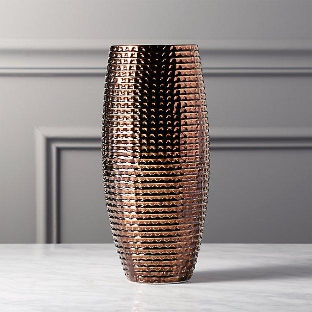 Leia Bronze Vase