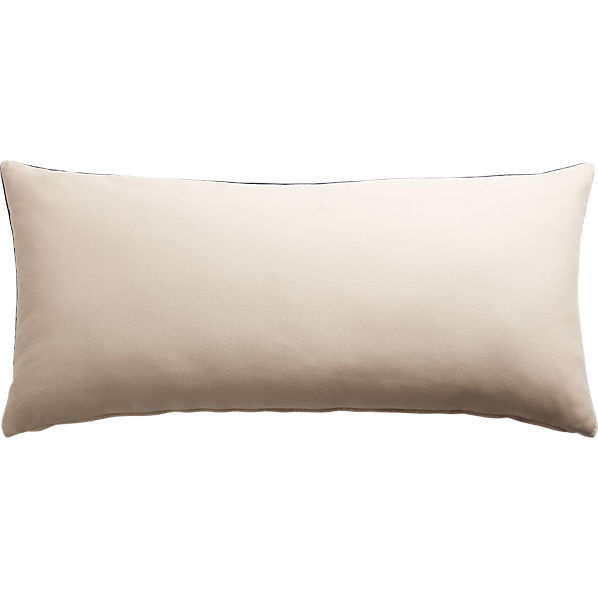 LeisureNavyPillow36x16AVF16