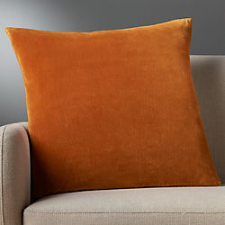 "23"" leisure copper pillow with down-alternative insert"