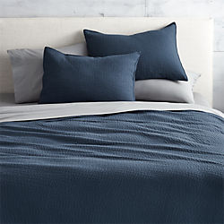 lilo navy bed linens