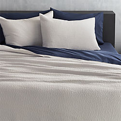 lilo silver-grey bed linens