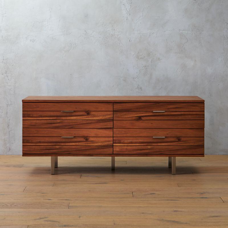 Linear Long Low Dresser | CB2
