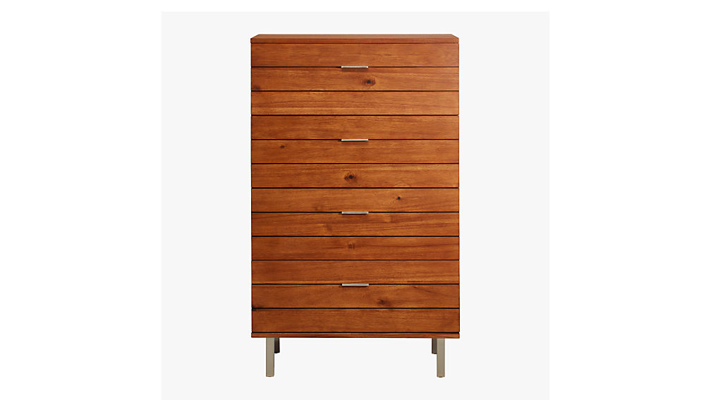 linear tall chest