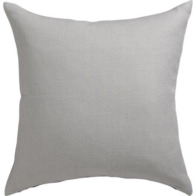"""20"""" linon grey pillow"""