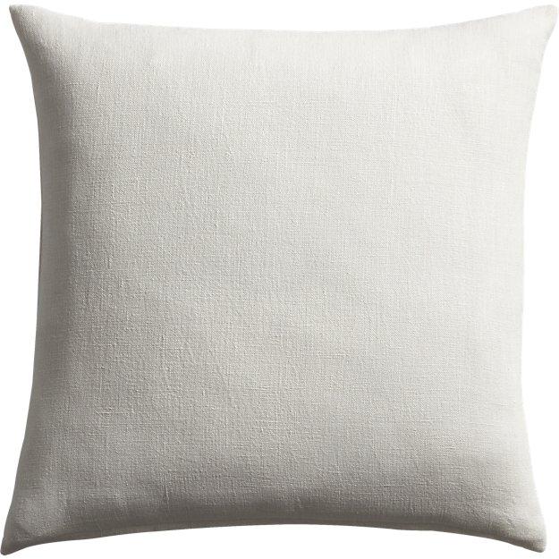 """20"""" linon white pillow"""